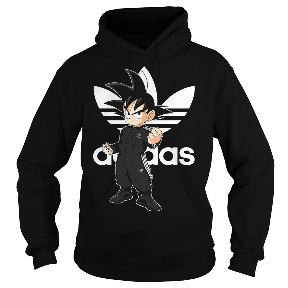 Songoku Kid Adidas Hoodie