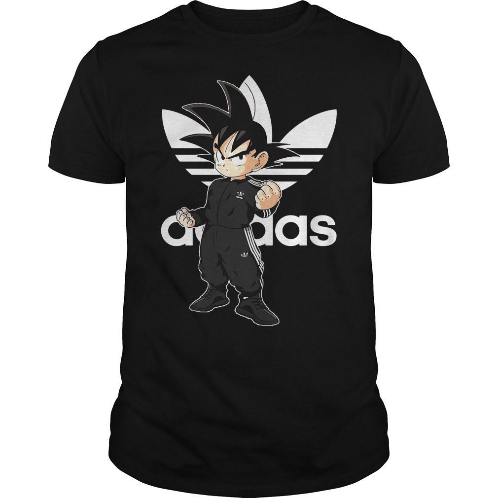 Dragon Ball Z: Songoku Kid Adidas Shirt