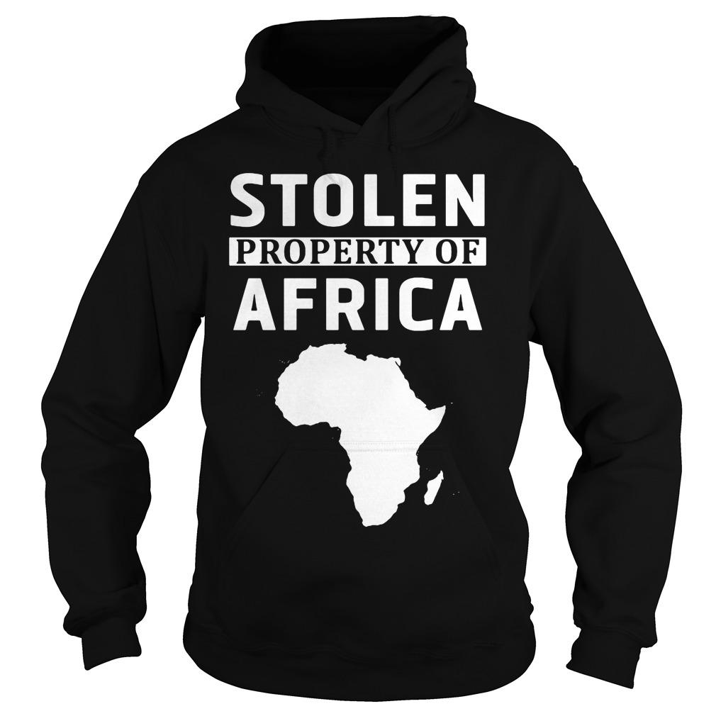 Stolen Property Africa Hoodie