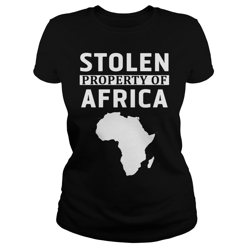 Stolen Property Africa Ladies Tee