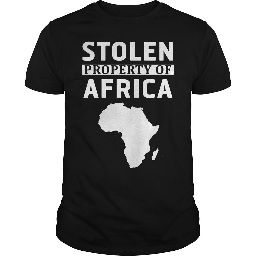 Stolen Property Africa Shirt