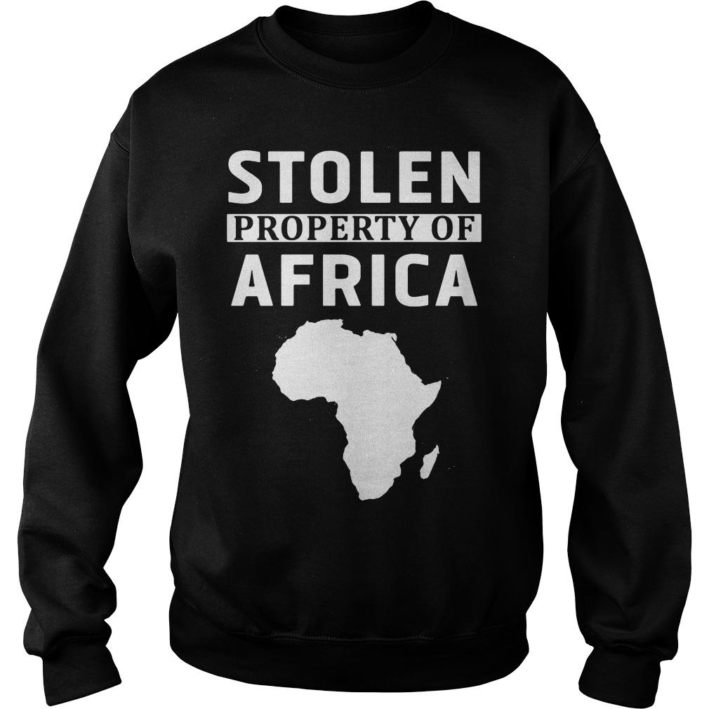 Stolen Property Africa Sweater