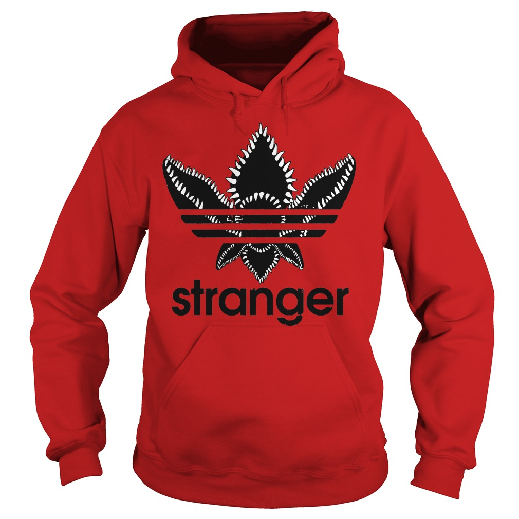 Stranger Things Adidas Black Logo Hoodie