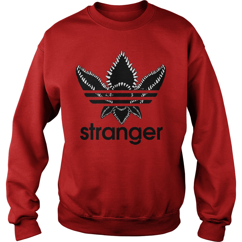 Stranger Things Adidas Black Logo Sweater