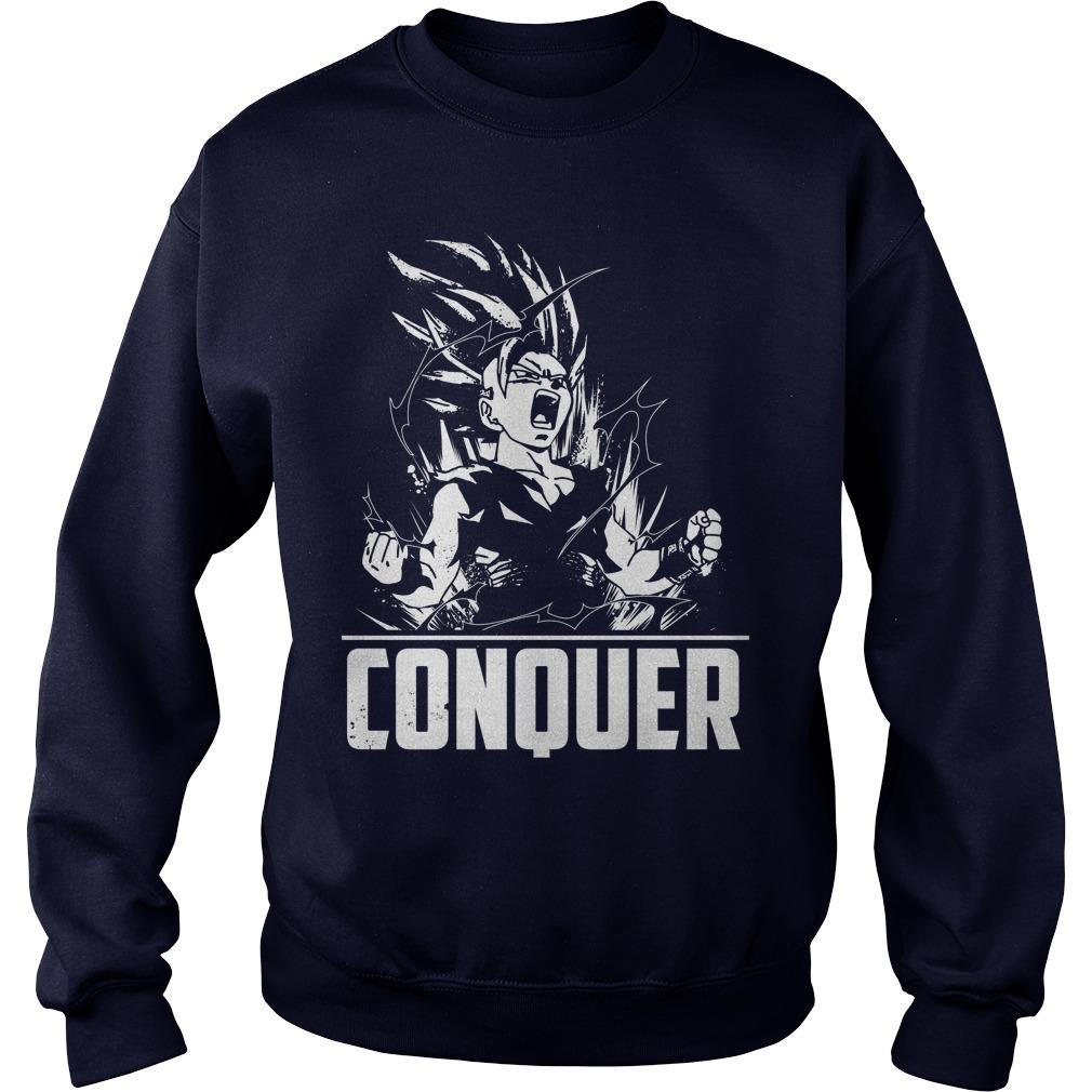 Super Saiyan Gohan Male Sweater