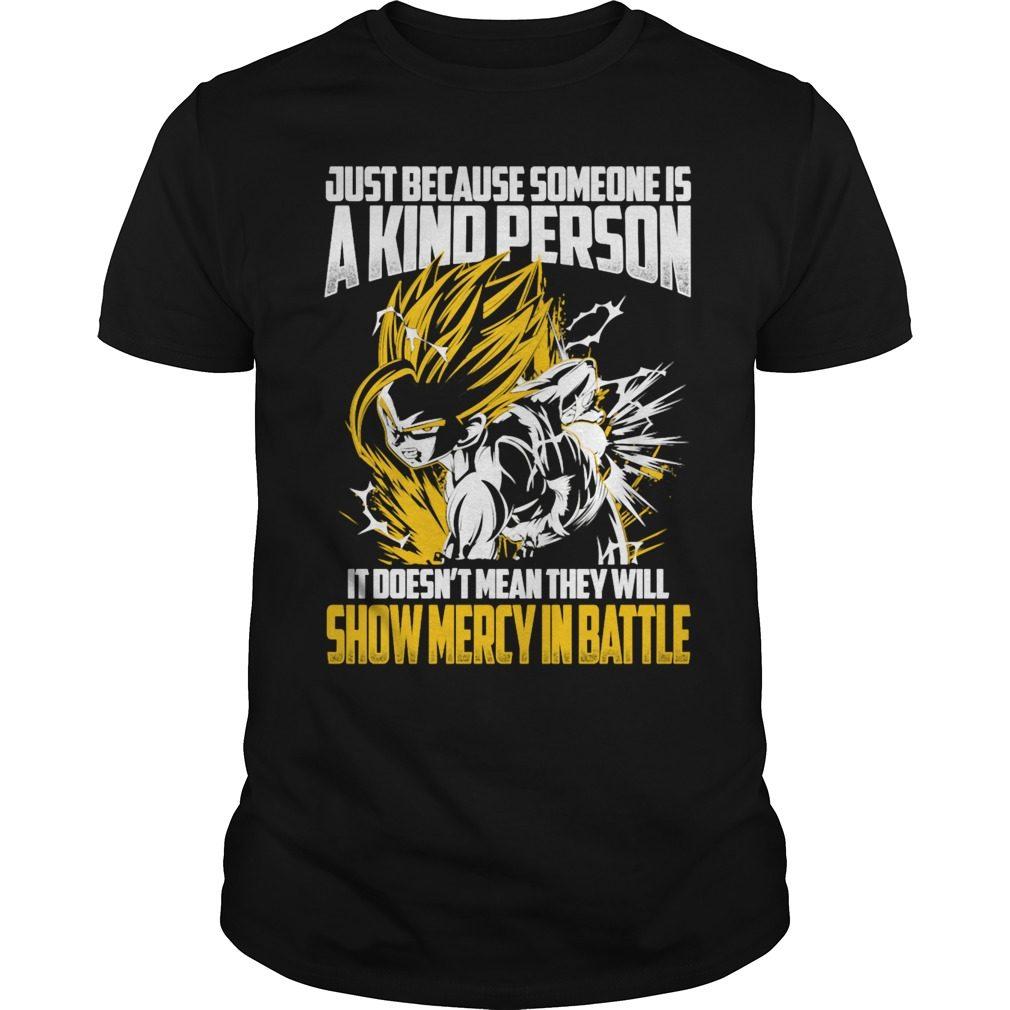 Super Saiyan Gohan Show No Mercy Battle Shirt