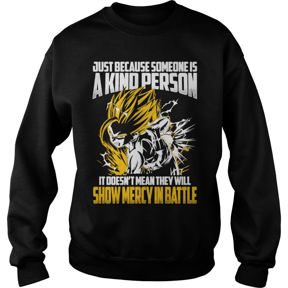 Super Saiyan Gohan Show No Mercy Battle Sweater