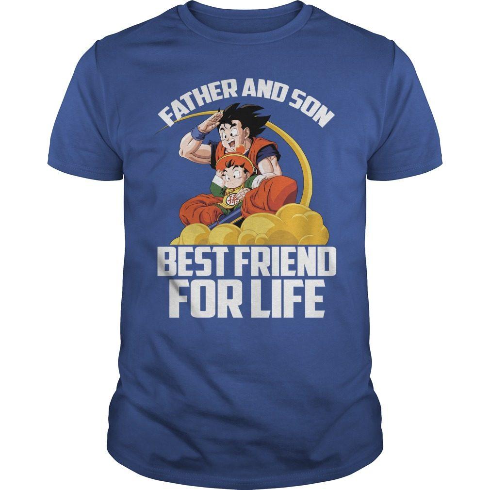 Super Saiyan Goku Gohan Father Son Shirt
