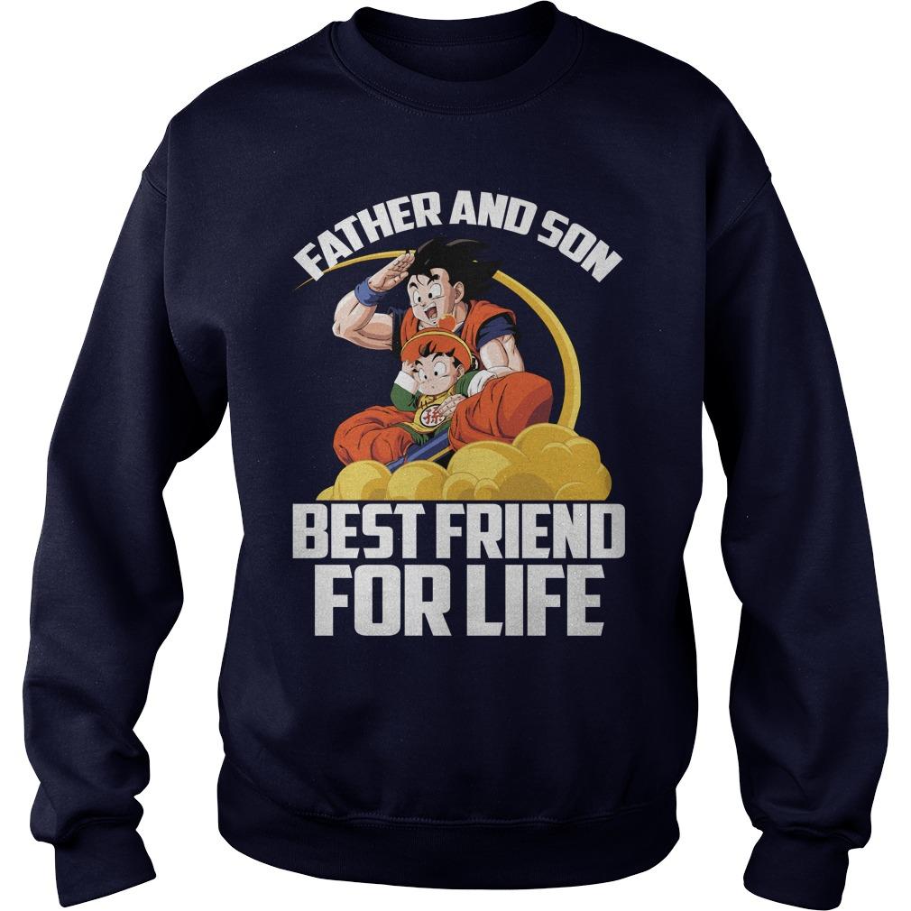Super Saiyan Goku Gohan Father Son Sweater