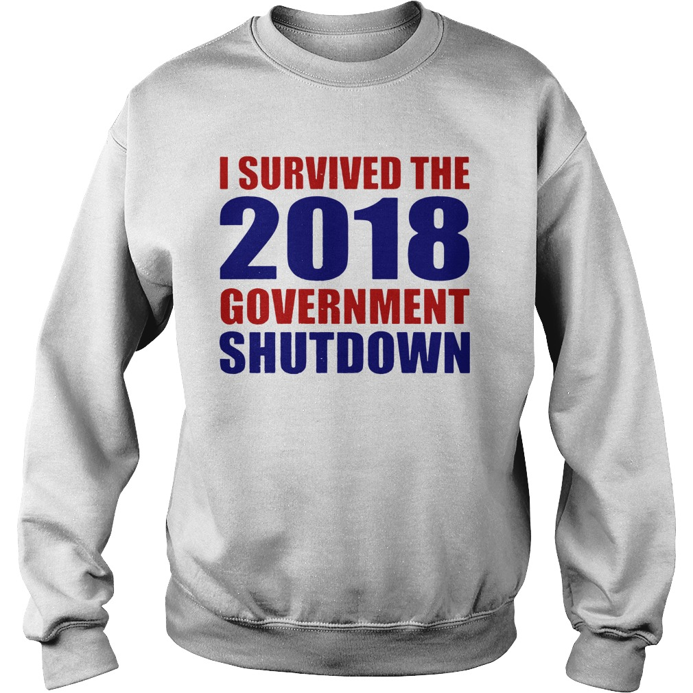Survived 2018 Government Shutdown Sweater