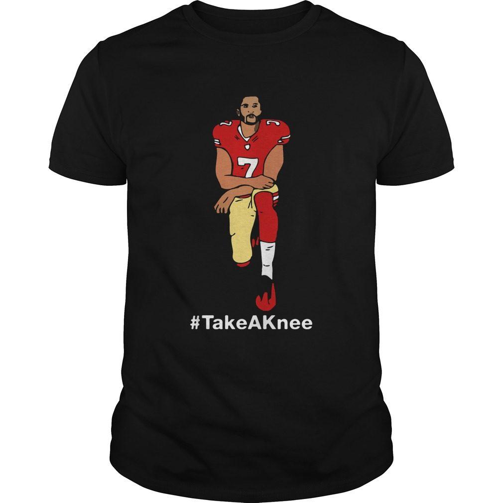 Take A Knee Colin Kaepernick Shirt