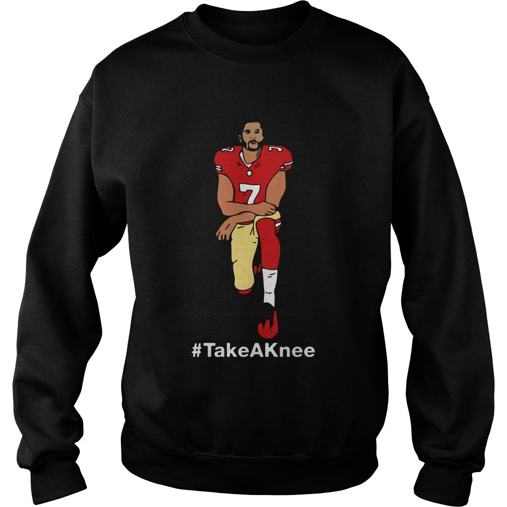 Take A Knee Colin Kaepernick Sweater