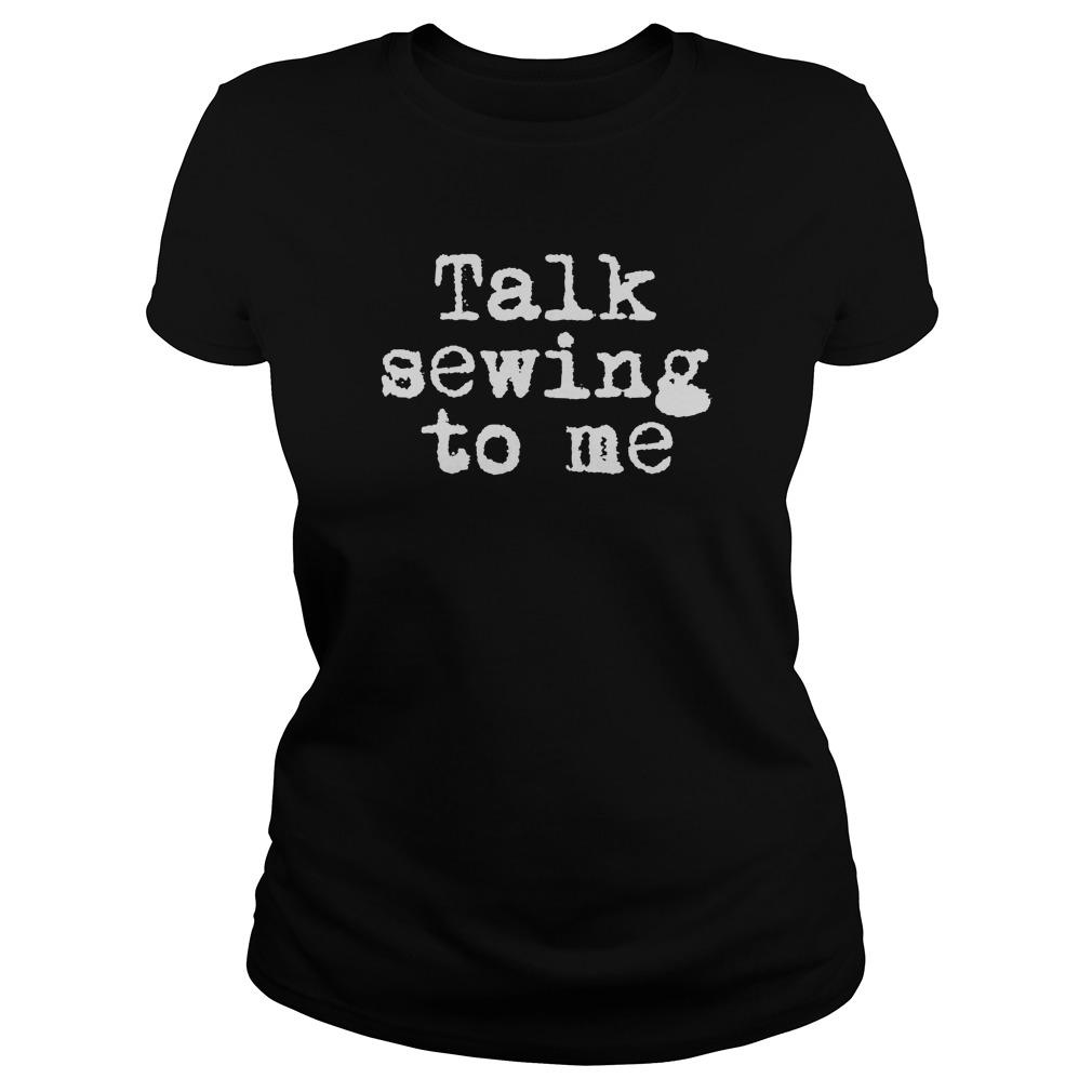 Talk Sewing Ladies Tee