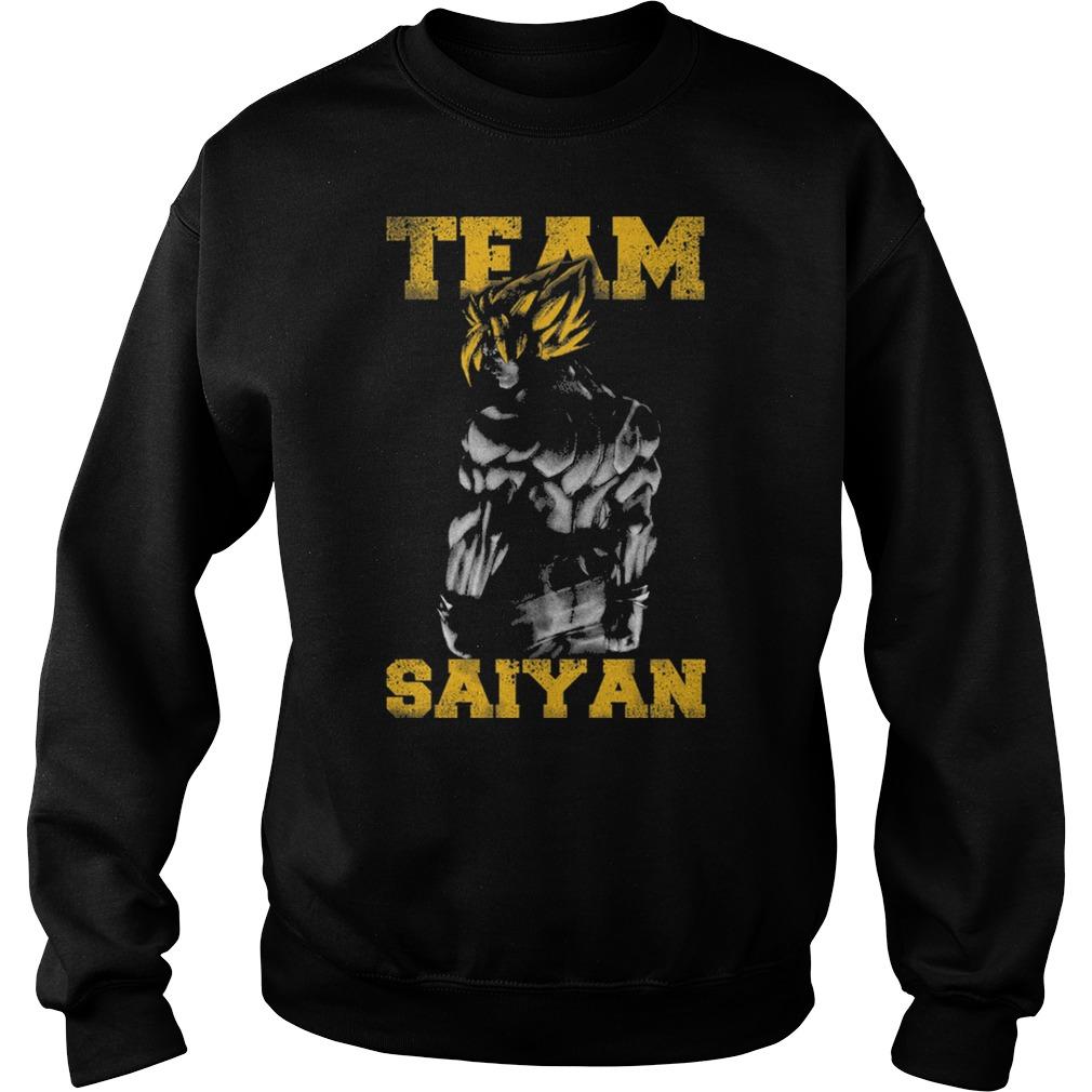 Team Saiyan Gym Friends Cartoon Anime Muscle Sweater