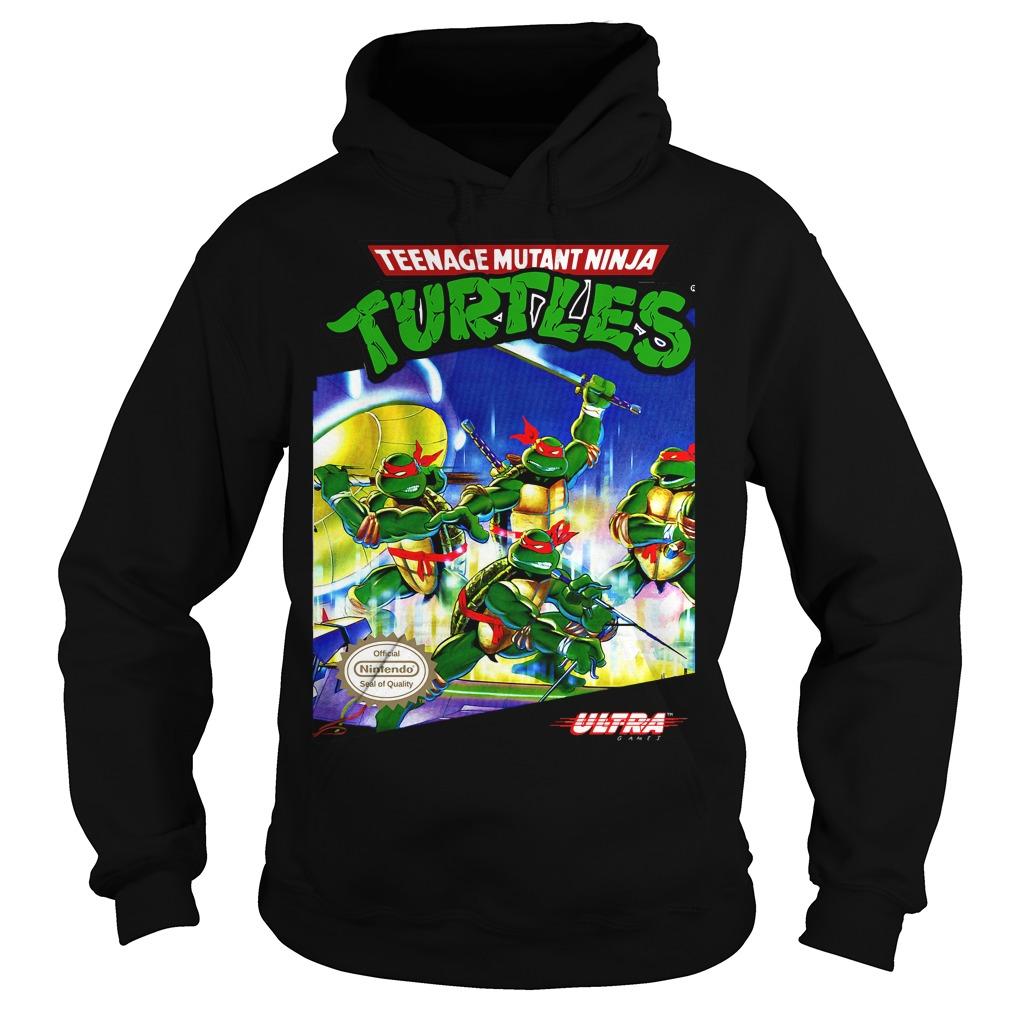 Teenage Mutant Ninja Turtles Tmnt Nes Hoodie