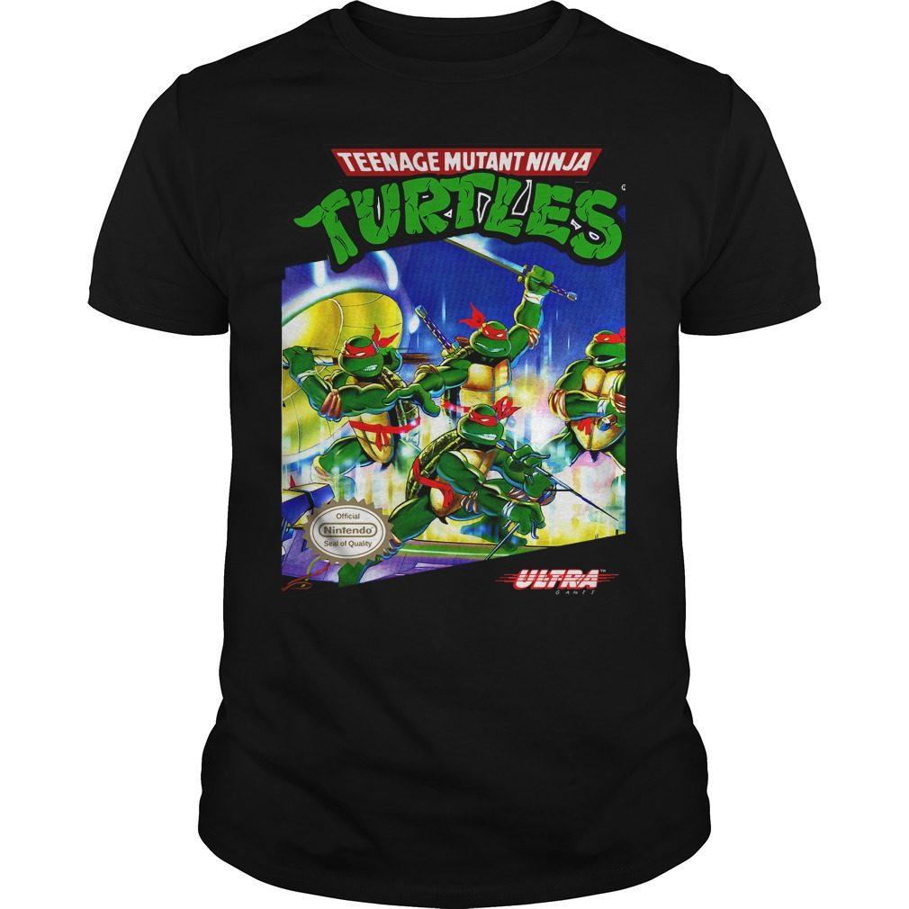 Teenage Mutant Ninja Turtles Tmnt Nes Shirt