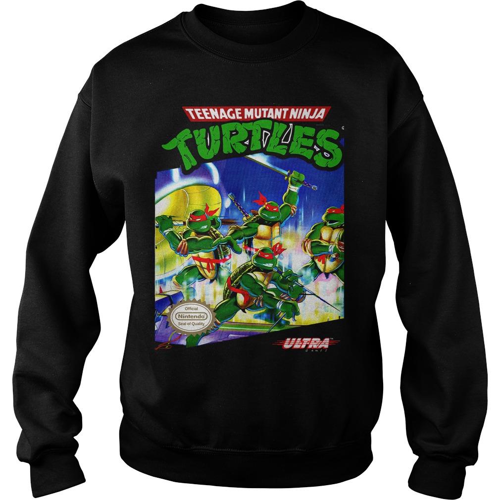 Teenage Mutant Ninja Turtles Tmnt Nes Sweater