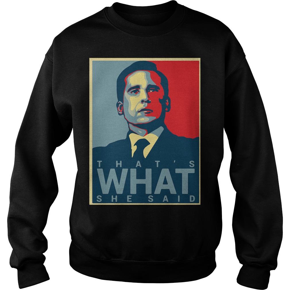 Thats Said Michael Scott Office Us Sweater