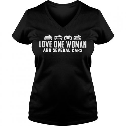 The Grand Tour Love One Woman And Several Cars V-neck t-shirt