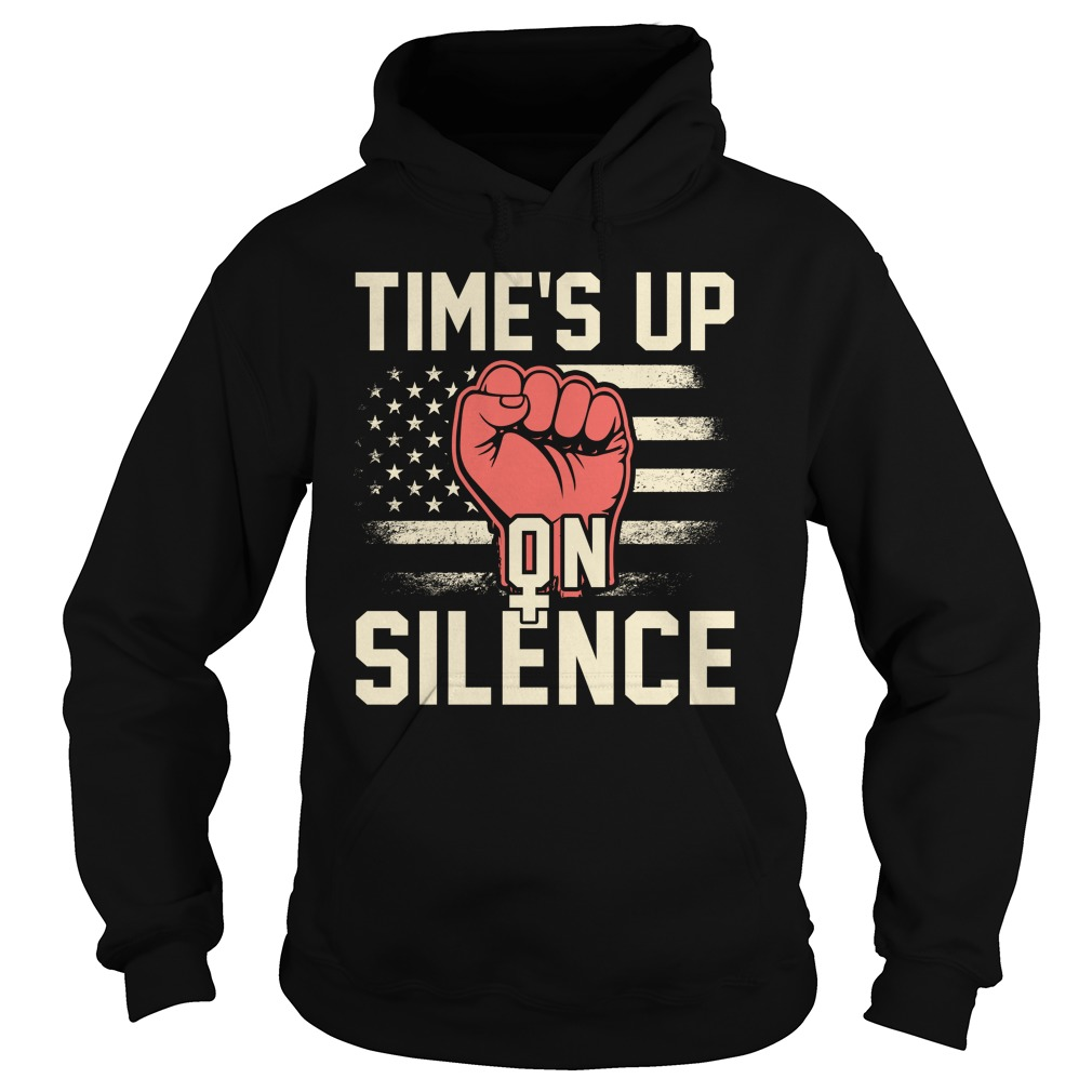 Time Silence Womens March 2018 Hoodie
