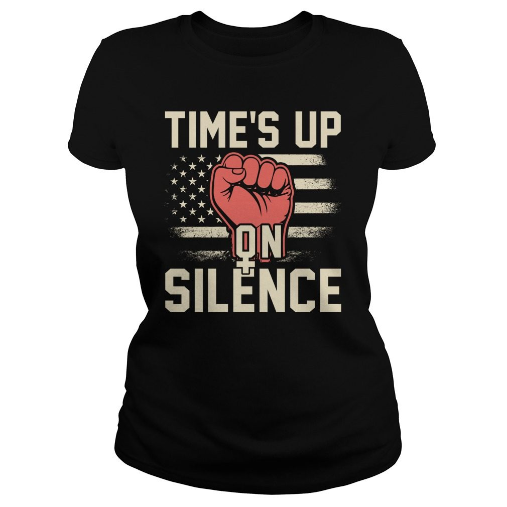 Time Silence Womens March 2018 Ladies Tee