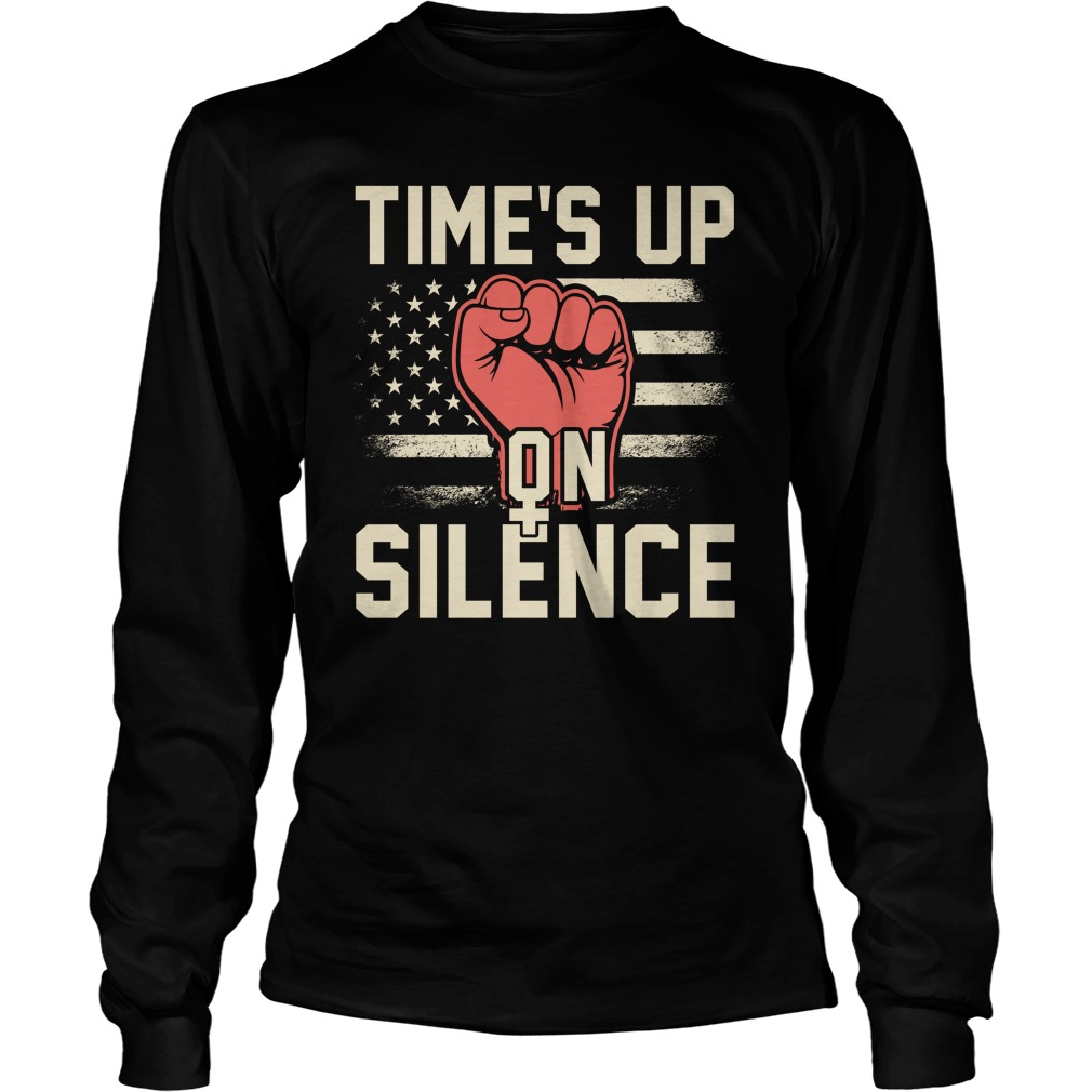 Time Silence Womens March 2018 Longsleeve Tee