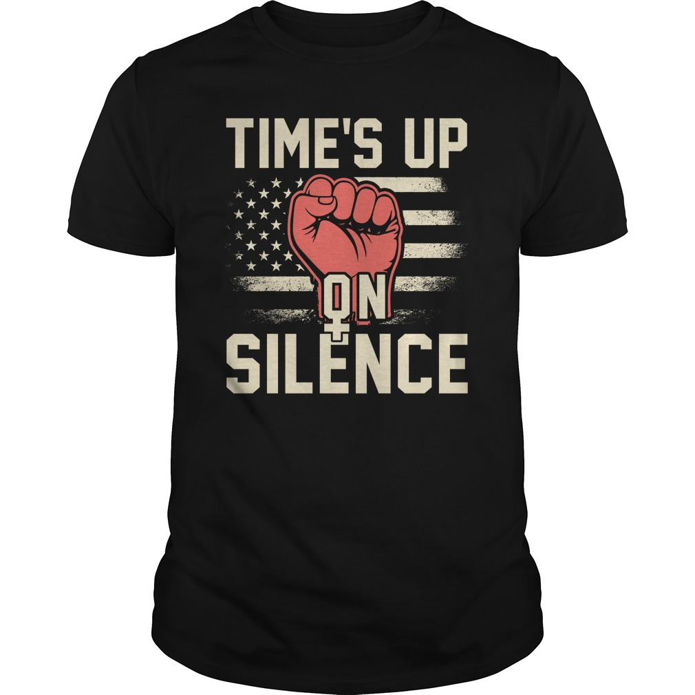 Time Silence Womens March 2018 Guys Shirt