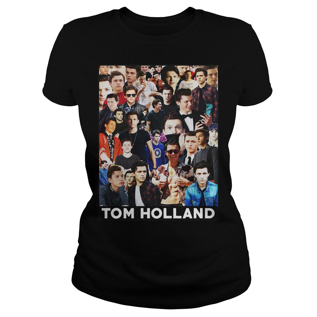 Tom Holland Spider Man Ladies Tee