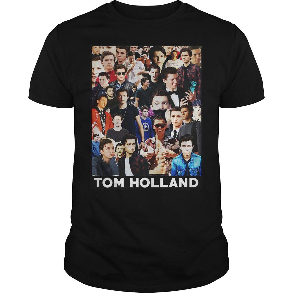 Tom Holland Spider Man Shirt