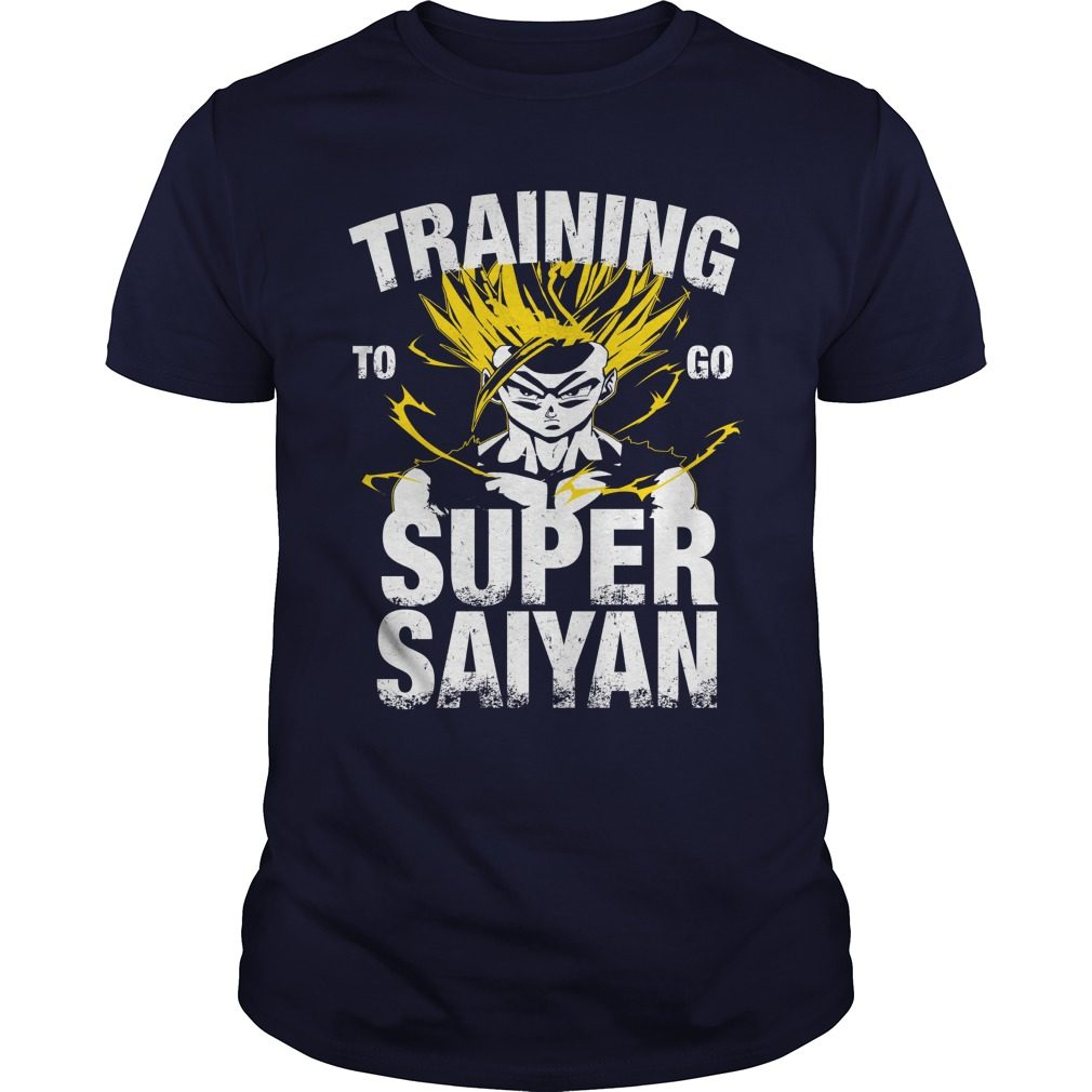 Training Go Super Saiyan Gohan Shirt