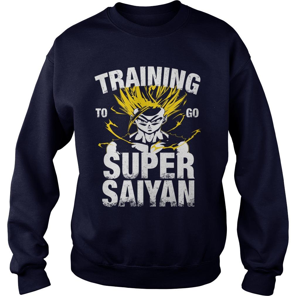 Training Go Super Saiyan Gohan Sweater