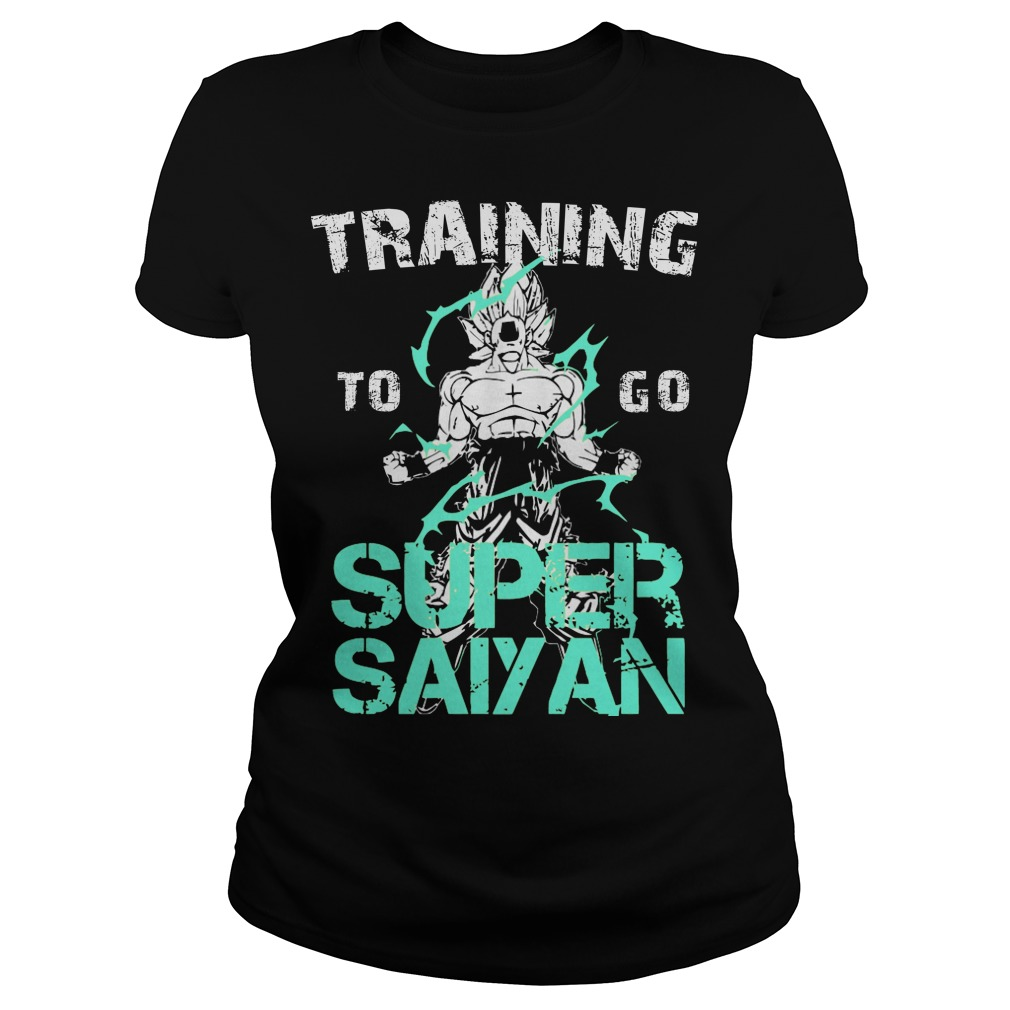 Training Go Super Saiyan Ladies Tee