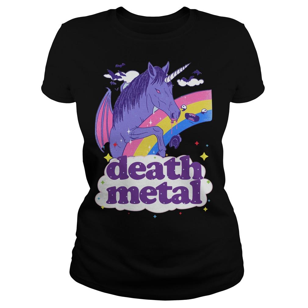 Vampcorn Death Metal Ladies Tee