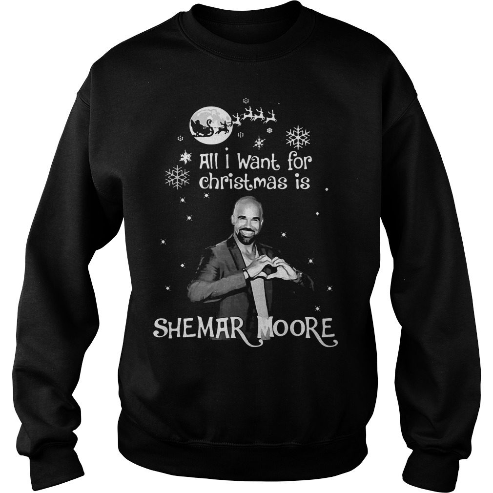 Want Christmas Shemar Moore Sweater