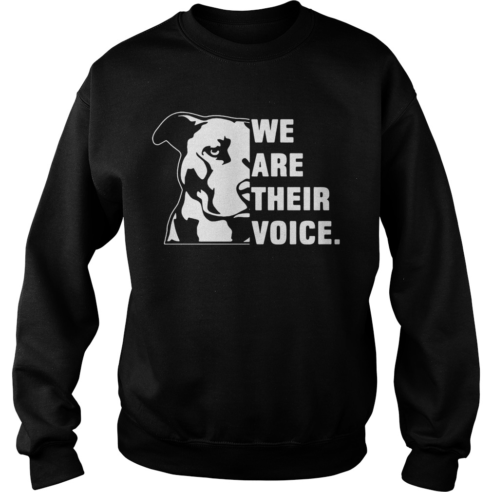 We Are Their Voice Pitbull Sweater