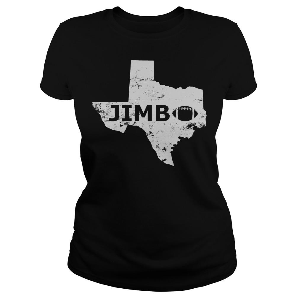 Welcome Jimbo Fisher Texas Aggie Football Ladies Tee
