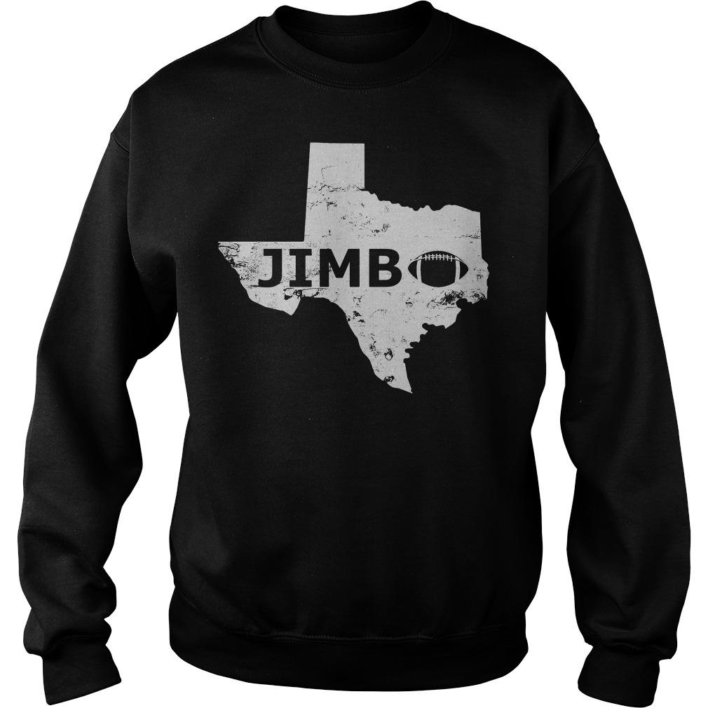 Welcome Jimbo Fisher Texas Aggie Football Sweater