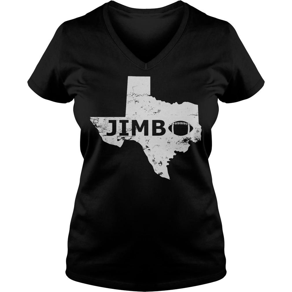 Welcome Jimbo Fisher Texas Aggie Football V Neck T Shirt