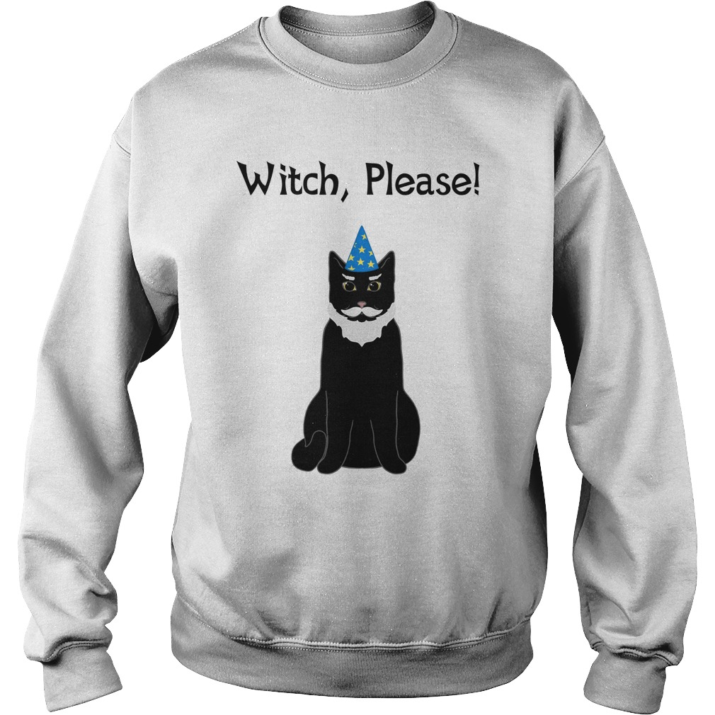 Witch Please Wizard Cat Shirt, Hoodie, Sweater And Ladies Tee