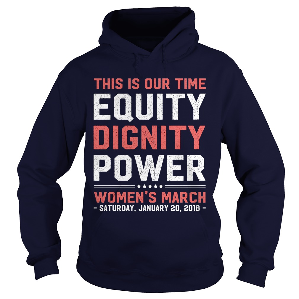 Womens March 2018 Feminist Hoodie