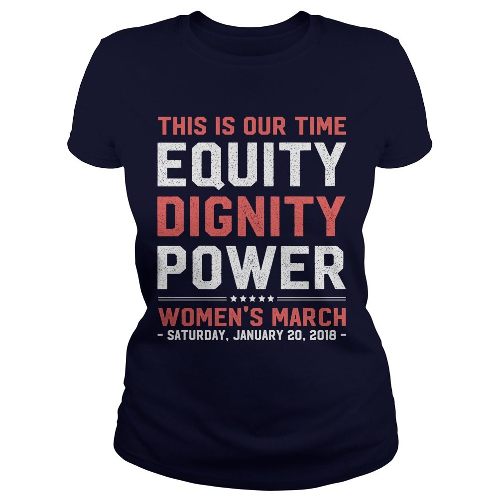 Womens March 2018 Feminist Ladies Tee