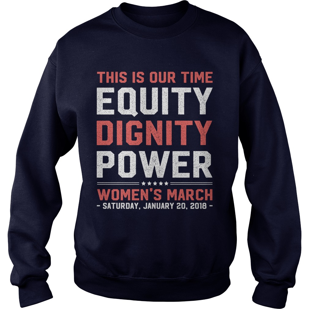 Womens March 2018 Feminist Sweater