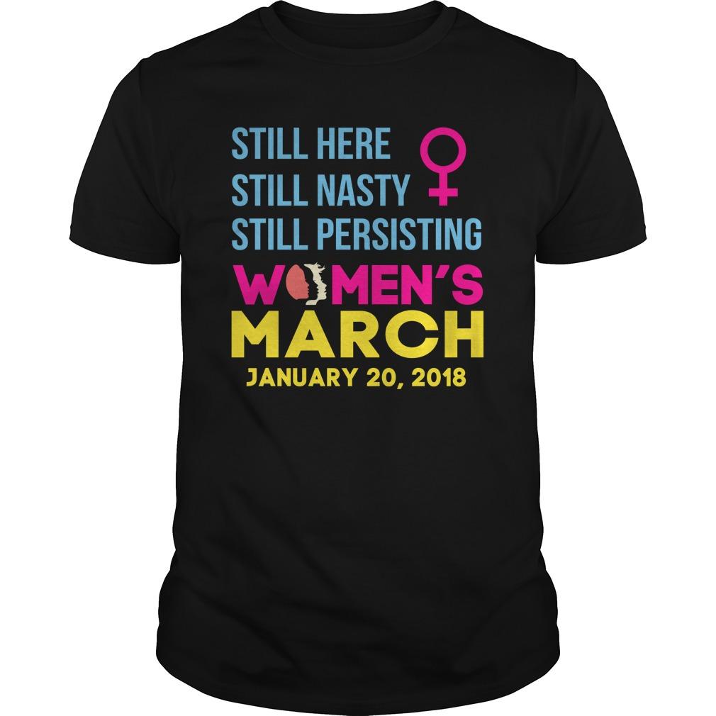 Womens March January 20 2018 Nasty Guys Shirt
