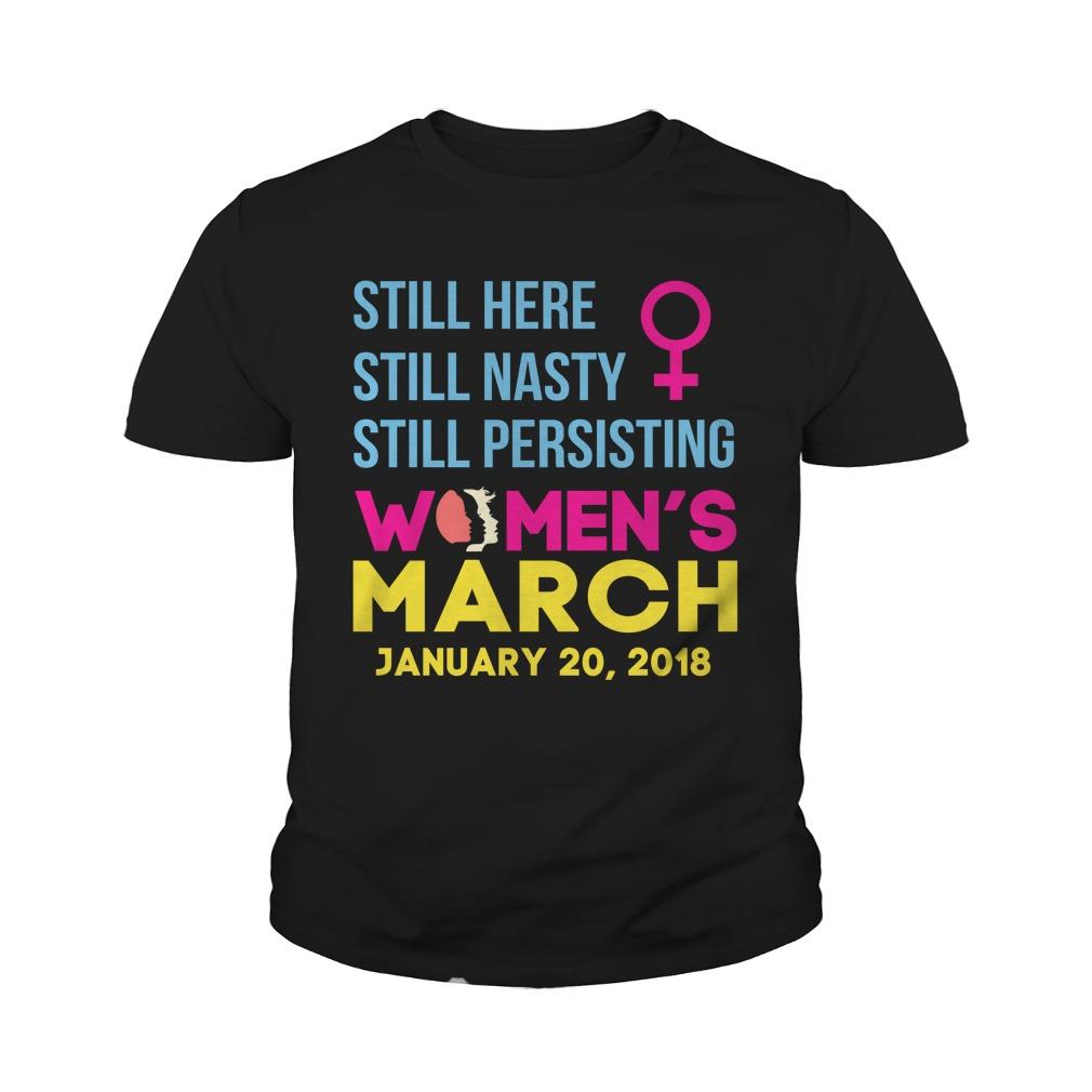 Womens March January 20 2018 Nasty Youth Tee