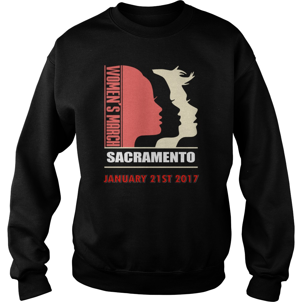 Womens March Sacramento January 21 St 2017 Sweater