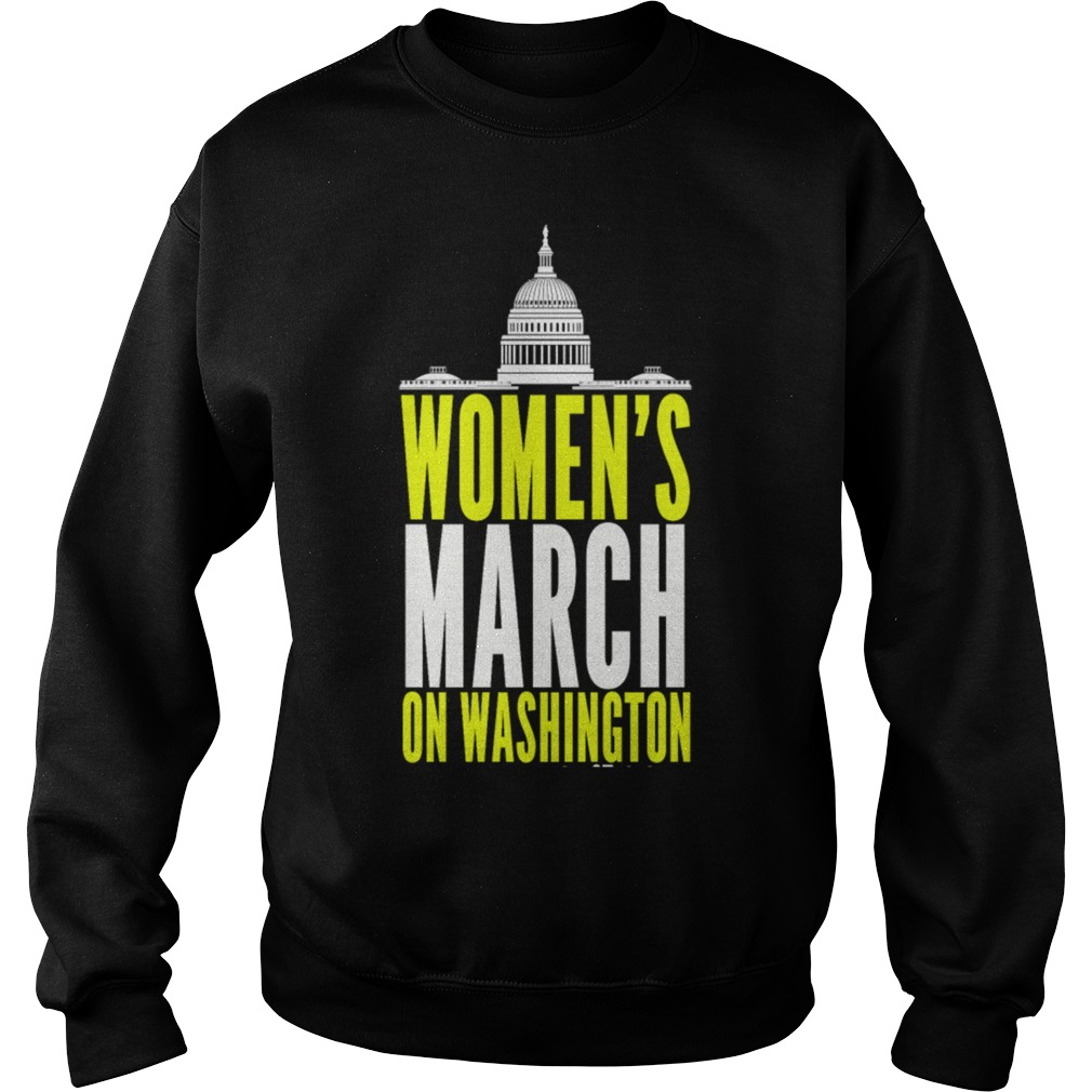 Womens March Washington Sweater