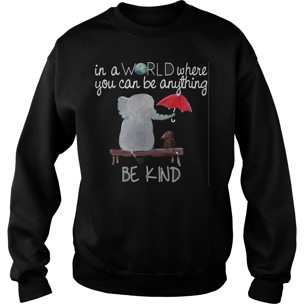 World Can Anything Kind Sweater