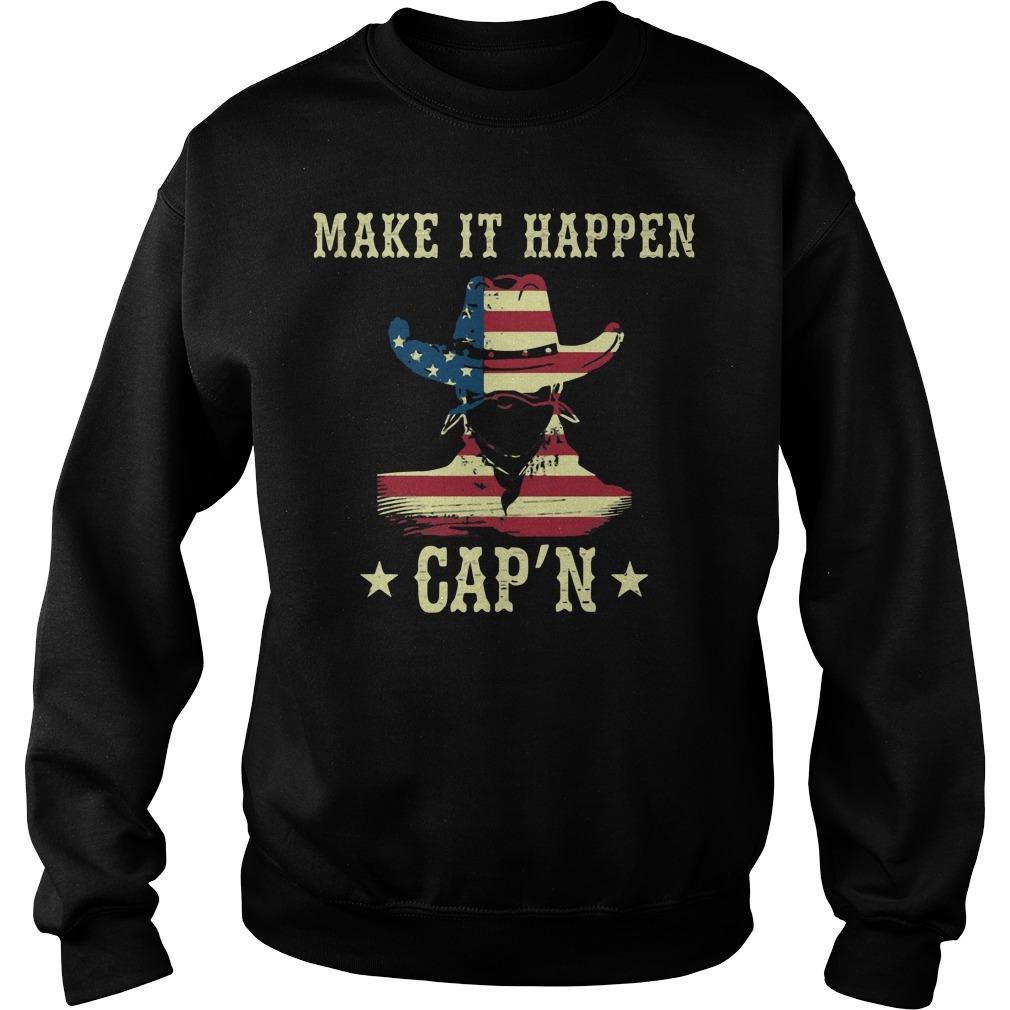 America Make It Happen Capn Sweater