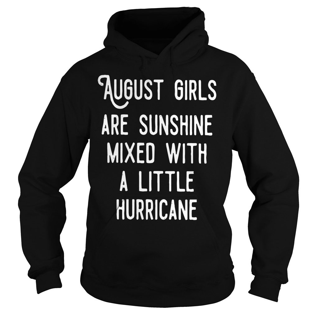 August Girls Sunshine Mixed Little Hurricane Hoodie
