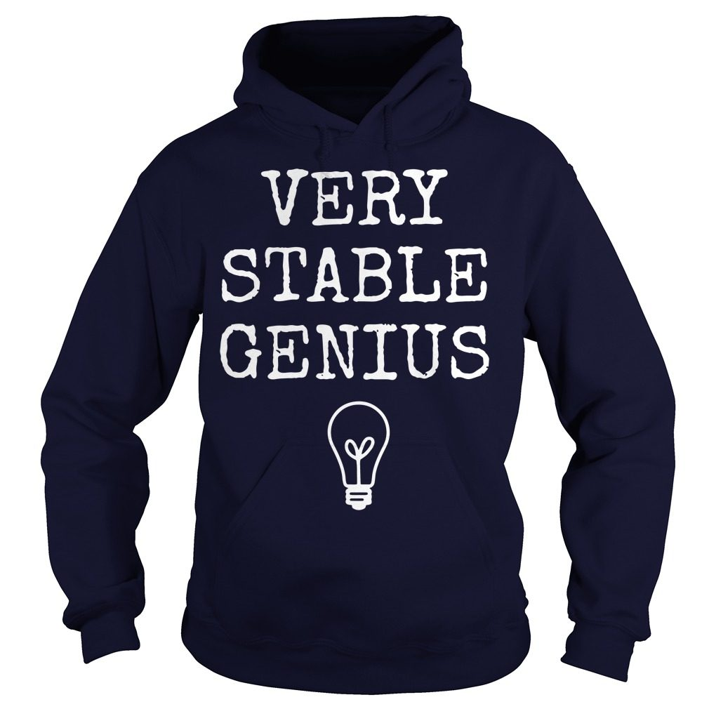 Best Very Stable Genius Hoodie